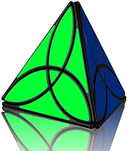 RENFEIYUAN Nuevo Irregular Creative Clover Pyramind MA Educativo 3D Juguete para Adultos y niños Rubik Cubo