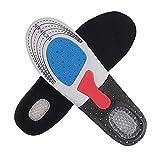 Without Plantillas Deportivas para Inserciones de Zapatos Soporte de Arco Plantillas ortopédicas Sujetadores Transpirables Plantillas de absorción de Zapatos Pad Suelas Gel Cojín