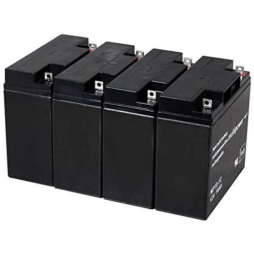 Powery Recambio de Batería para USV APC Smart-UPS XL 3000 Torre/Rack Convertible