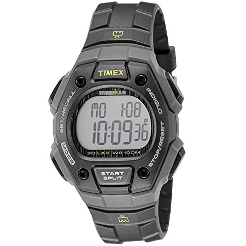 Timex Mixte Digital Quartz Montre avec Bracelet en Plastique TW5M09500