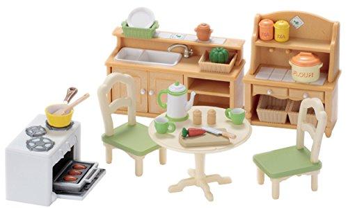 EPOCH Traumwiesen 5033 Sylvanian Families Esszimmer-Set