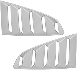 Advan-Emotion for Ford Mustang 15 GT Side Window Scoop Louver Unpainted Primer