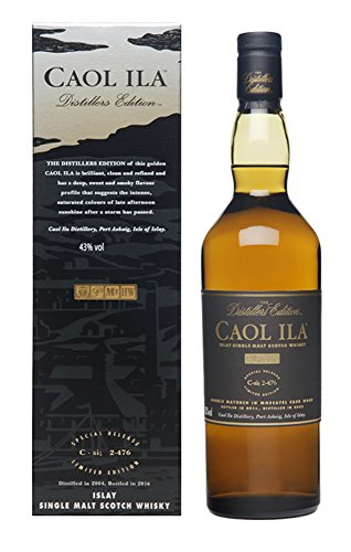 Caol Ila THE DISTILLERS EDITION 2017 Moscatel Finish 2006 Whisky (1 x 700)