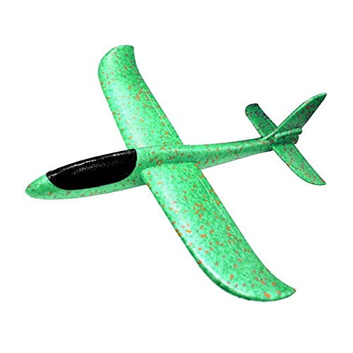 Houkiper 48cm Jumbo Lanzamiento de Mano Lanzamiento de avión Planeador Avión Espuma EPP Avión de Juguete para niños Deportes al Aire Libre