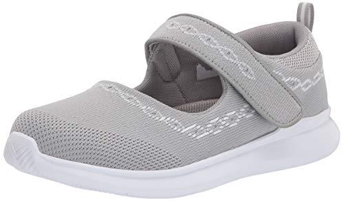 Propét Travelbound, Zapatos Planos Mary Jane Mujer, Gris Lt, 38.5 EU