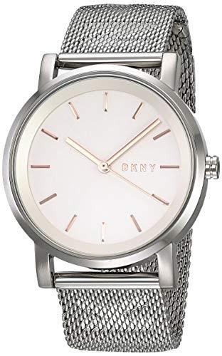 DKNY Reloj Analogico para Mujer de Cuarzo con Correa en Acero Inoxidable NY2620