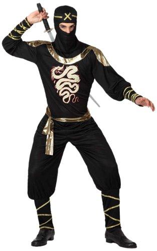 Atosa - 15290 - Costume - Déguisement De Ninja - Adulte - Taille 2