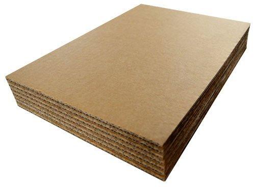 A4 297mm x 210mm Cartón ondulado hojas cojinetes compás de puntas artes y oficios cartónes contiene 10 hojas