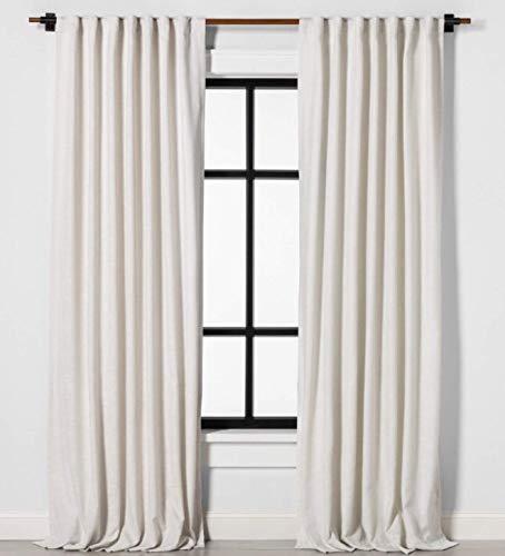 Magnolia Hearth & Hand 95 Window Curtain Panel - Solid Sour Cream - 1 Panel