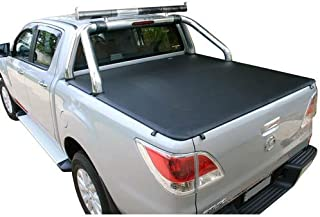 Tuff Tonneaus Mazda BT50 Dual Cab Genuine No Drill Clip On Tonneau Cover (Suits Factory Sports Bars) Nov 2011 to Sep 2020