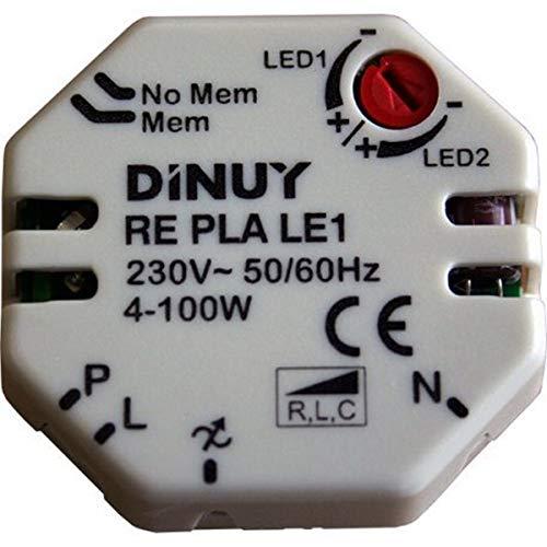 Dinuy RE.PLA.LE1 - Regulador lámparas led 230v/12v