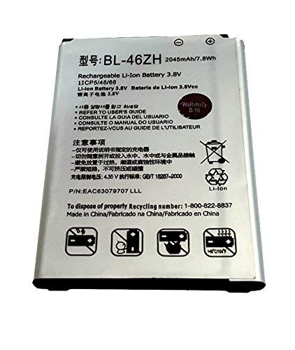 World Star Non-OEM BL-46ZH 2045mAh Battery for LG AS330 Escape 3 4G...