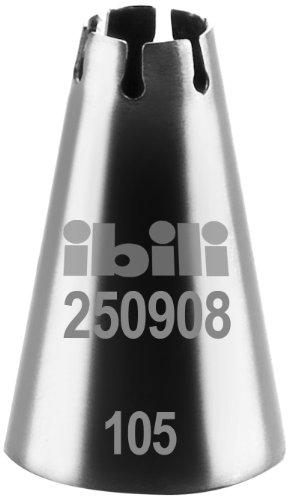 IBILI 250908 - Bocchetta per sac-à-Poche, a Forma di Conchiglia, 8 mm