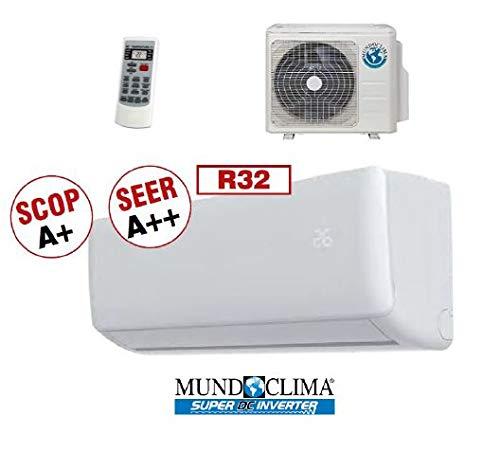 MUNDOCLIMA MUPR-12-H9A EFIMARKET - Aire Acondicionado 3500W (Nuevo Gas R32)