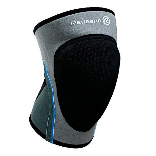 Rehband Bandage Volleyball Kniepad Pro, grau, L, 776309-4