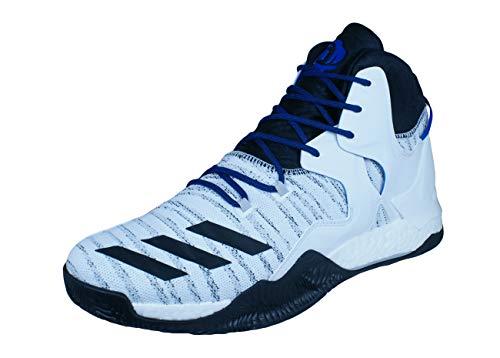 adidas D Rose 7 Primeknit, Zapatillas de Baloncesto Hombre, Blanco, 54 2/3