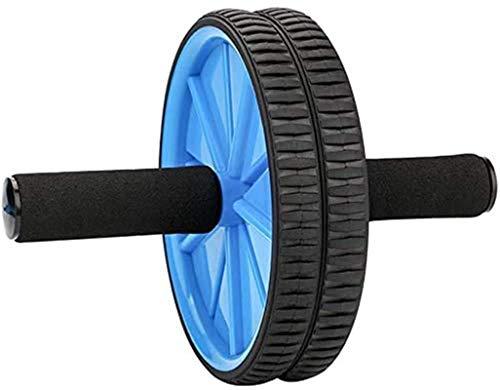 HSWYJJPFB AB Roller Bauchmuskeltrainer Für Bauchmuskel-Training Heimtrainer Für Das Heim-Fitnessstudio Trainingsmaschine Breiter, Doppelräder