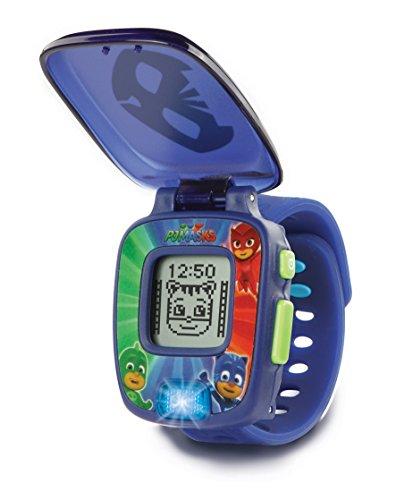 VTech PJ Masks Gatuno, Reloj Digital Educativo Que estimula el Aprendizaje e incorpora minijuegos y Actividades, Color Azul (3480-175822)
