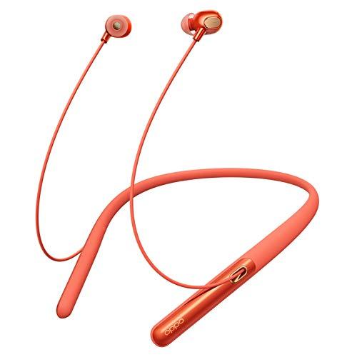Oppo Bluetooth Kopfhörer, Bluetooth 5.0 In-Ear Sport Kabellose Ohrhörer - Stereo-Kopfhörer zum Laufen Workout Gym Noise Cancelling ANC Enco Q1 (Orange)