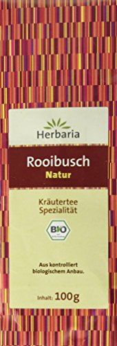 Herbaria Rooibusch Natur , 1er Pack (1 x 100 g Tüte) - Bio