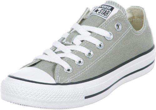 Converse, All Star Ox Canvas Seasonal, Sneaker Unisex - Adulto, Argento (Old Silver), 36