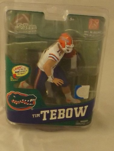 McFarlane Toys Action Figure - NCAA College Football Series 4 - TIM TEBOW (White Jersey)