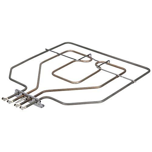Heizelement 230V Oberhitze, Grill - für Siemens/Bosch Backofen. Heizspirale auch passend für Balay, Constructa, Neff, wie Teilenummer 00470845/470845