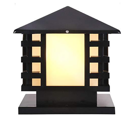 HOMZYY spot licht waterdicht deur licht Europese muur licht buitenverlichting LED landschap tuinverlichting (E27 schroeven) 25cm