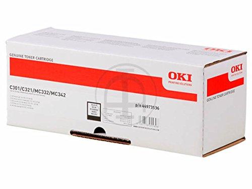 Original OKI 44973536 / C301, für MC 342 DN Premium Drucker-Kartusche, Schwarz, 2200 Seiten