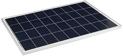 Newpowa 2 Piece 100W Polycrystalline Photovoltaic PV Solar Panel Module, 12V Battery Charging