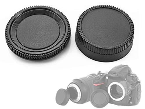 Kit de tapa para el cuerpo de la cámara trasera del objetivo compatible con Nikon D600...
