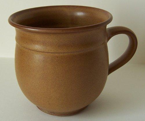 Töpferei Annett Fischer T2 Tasse handgetöpfert Tasse braun Durchmesser 10 cm