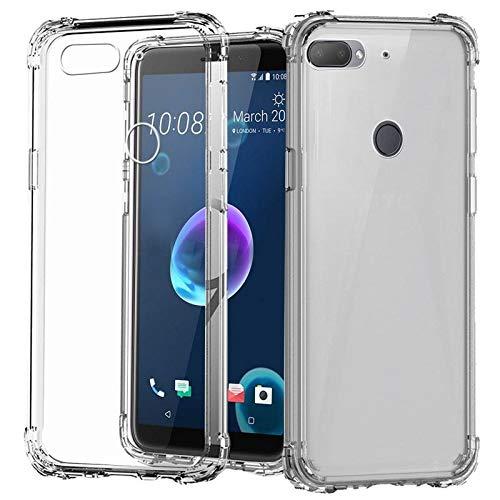 AONIR® Transparent Anti Scratch Boom Transparent Back Cover for HTC Desire 12 Plus