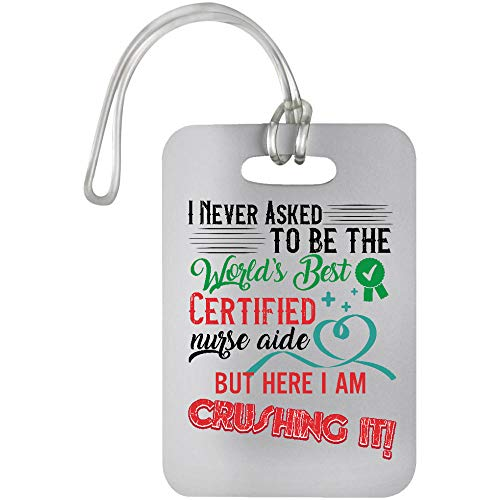 Osborna Arrt Certified Nurse Aide Worlds Best Crushing It Luggage Bag Tag