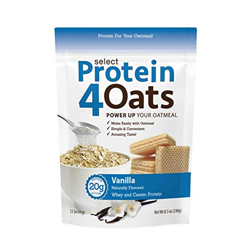 PES Protein 4 Oats Vanilla 12 Serving, 246 g