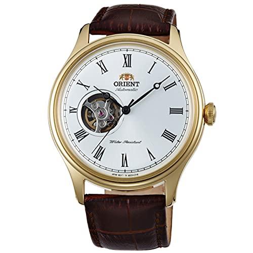 Orient Reloj Analógico para Unisex Adultos de Automático con Correa en Cuero FAG00002W0