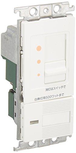 Panasonic コスモシリーズワイド21 埋込調光スイッチC(片切・3路両用)スライド式(ホワイト) WTC57625WK
