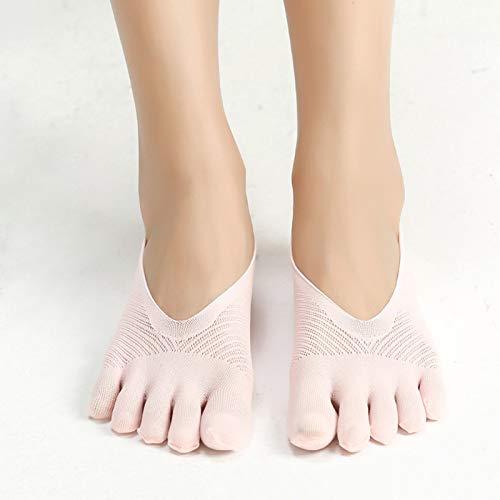 Shadiao, calzini a compressione ortopedici da donna, ultra bassi, con imbottitura in gel traspirante