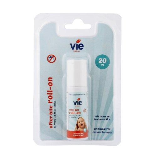 VIE, After Bite Roll On, Geeignet für Mücken- und Insektenstiche, Ammoniakfrei, Geeignet für die ganze Familie, 20 ml - Packung mit 1 Stück