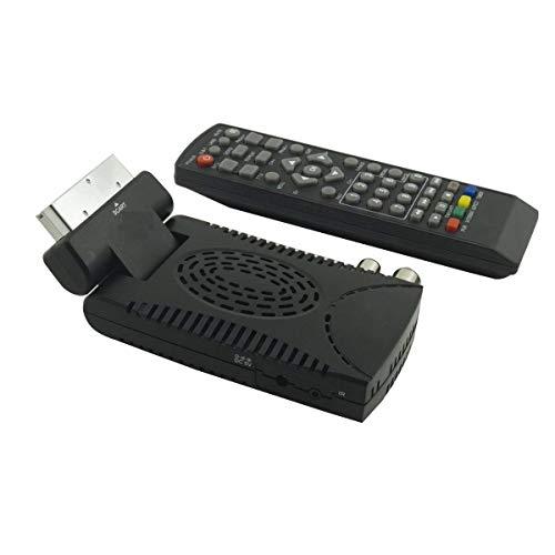 MadPrice Decoder Mini Digitale Terrestre DVB T3 HD-333 USB Hdmi Scart
