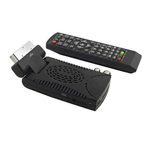 MadPrice Decodificador Mini Digital Terrestre DVB T3 HD-333 USB HDMI Scart