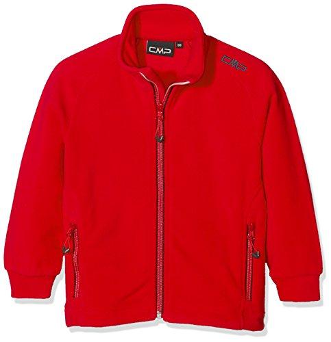 CMP Arctic Fleece 3H14714 - Chaqueta de forro polar para niño, color rojo (Ferrarios/antracita), 176