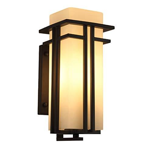 Buitenwandlamp, eenvoudig, modern, Chinees, waterdichte wandlamp, buiten, schuur, tuin, wandlampen van ijzer, creatieve versnelling, buitenverlichting