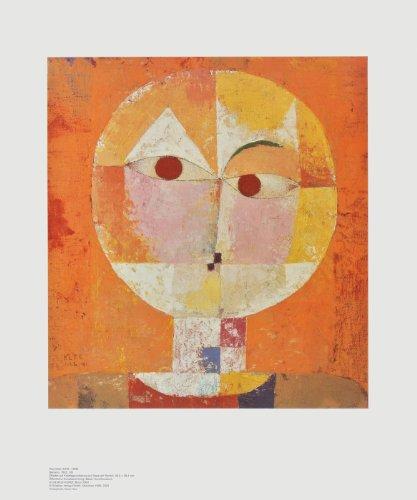Kunstdruck / Poster Paul Klee - Kopf eines Mannes - Senecio (Baldgreis) - 50.0 x 60.0cm - Premiumqualität - , Konstruktivismus, Kopf, Gesicht, Augen, geometrische Formen, Farbflächen, Klassische Mod.. - MADE IN GERMANY - ART-GALERIE-SHOPde