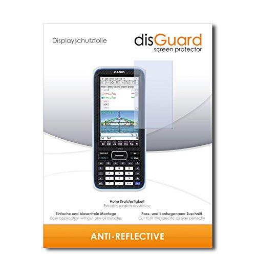 disGuard Bildschirmschutzfolie für Casio FX-CP400 ClassPad II [3 Stück] Anti-Reflex, MATT, Entspiegelnd, Extrem Kratzfest, Anti-Fingerabdruck - Bildschirmschutz, Schutzfolie, Panzerfolie