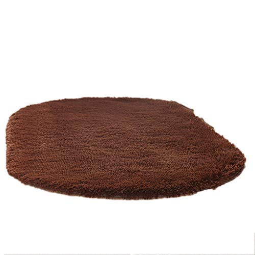 Lowest Price! CarPet Bedroom Rug Kids Room Decor Super Soft Fluffy (Color : Brown, Size : 80×200cm)
