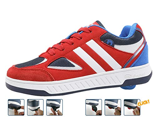 Breezy Rollers 2180182, wrotki, buty z kółkami, dziecięce buty 2 w 1, buty skateboardowe, sneakersy