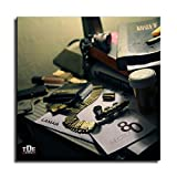 xiaohanhan Kendrick Lamar (Section 80) Album Cover Canvas Art Poster and Wall Art Picture Print Modern Family Bedroom Decor Posters