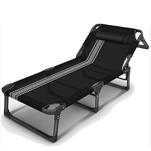HOUMEL Sedie a Sdraio e reclinabili Pieghevole Lettino da Sole Regolabile con 8 × 8 Tessuto tessilene Resistente ai Raggi UV, 189 * 68 * 25cm, 200 kg Max.Schienale 5 Regolazione della Posizione c317