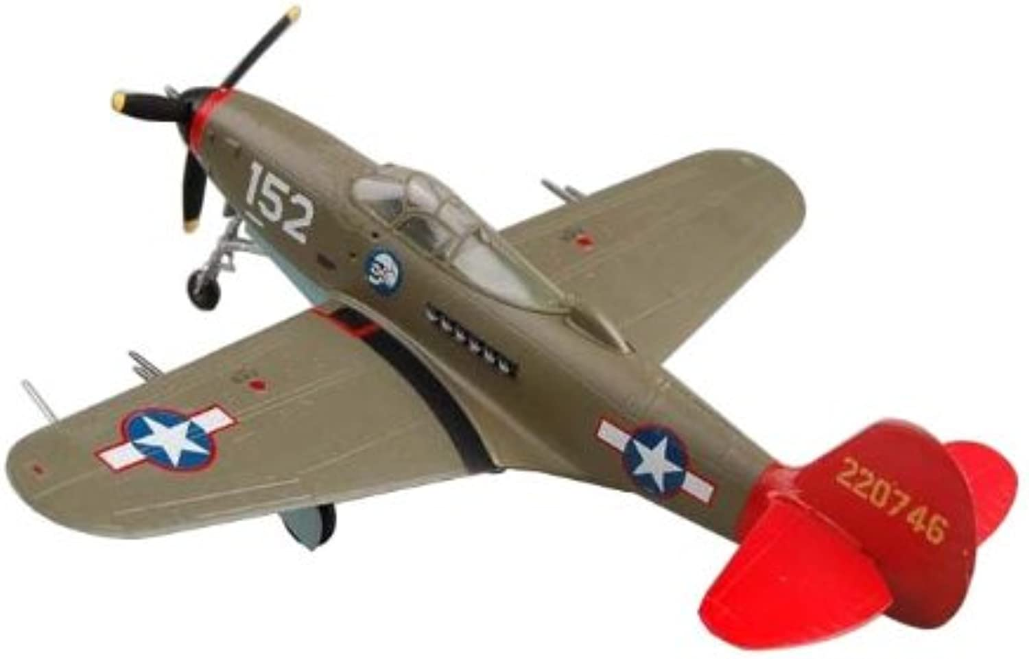 Easy Model P39 Aircobra Red Tails  Building Kit